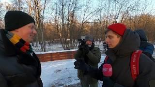 Юрист бомбит в интервью Дождю на митинге Мужского движения 08.02.20