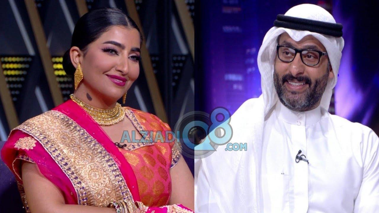 لقاء حسين المهدي و بثينة الرئيسي في برنامج (ليالي الكويت) عن مسلسل محمد علي رود