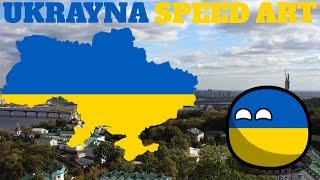 Ukrayna Speed Art Ukraine Speed Art