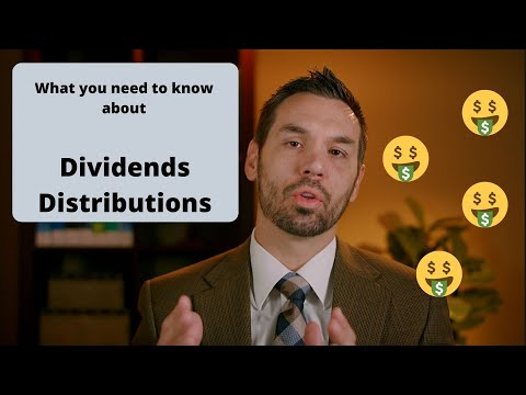 Dividends and Distributions - Be Tax and Investor Smart