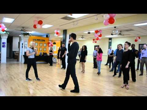 Chelsea and Ryan Cha-cha Master Class #1