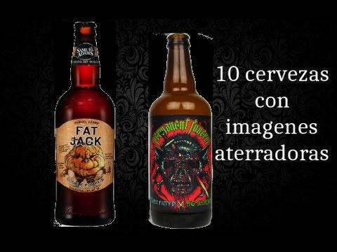 10 Cervezas con Imágenes ATERRADORAS