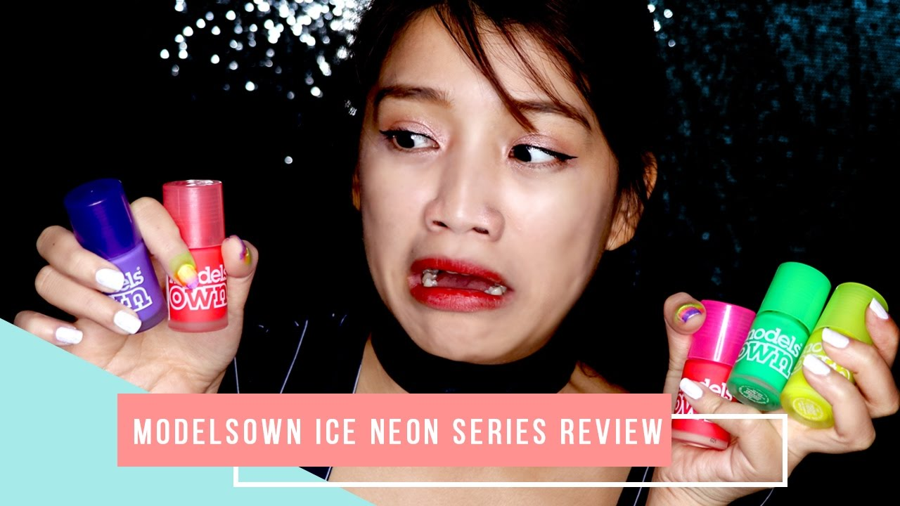 Modelsown Ice Neon Series | First Impression Review | Favful♥ - YouTube