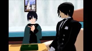 MMD Black Butler - Sebastian tells Ciel where babies come from