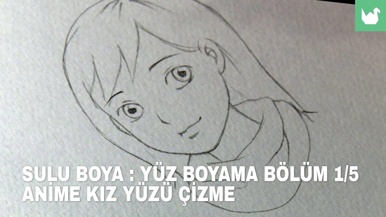 Manga Sulu Boya Yüz Boyama 1 Youtube