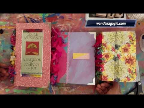 JOURNAL FLIP || New Handmade Journals