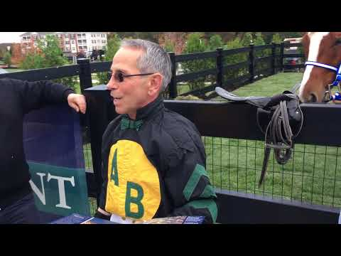 Jockey Tony Black reminisces about racing at the old Garden State Park in Cherry Hill