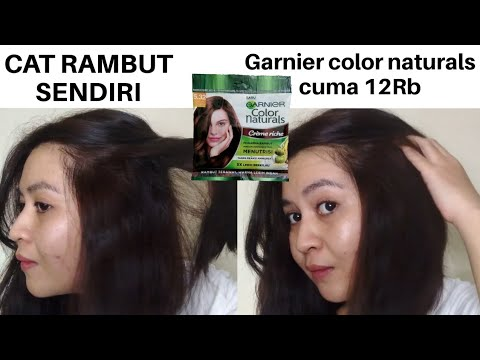 CAT RAMBUT SENDIRI GARNIER COLOR NATURALS warna coklat