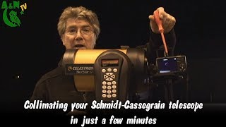 Collimating your Schmidt-Cassegrain telescope in just a few minutes