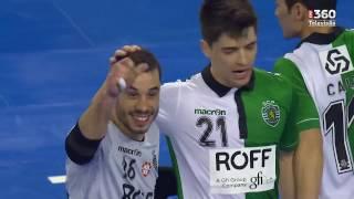 Taça da Liga Futsal, meias-finais: AD Modicus Sandim 2-5 Sporting CP