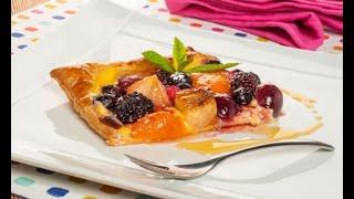 Receta de tarta de frutas exprés de Bruno Oteiza