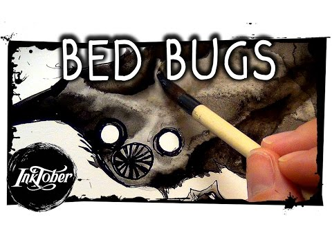 BED BUGS || Inktober drawing! #1