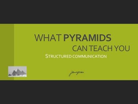 Structured Communication 1 ( Minto Pyramid) - UReadyAfrica