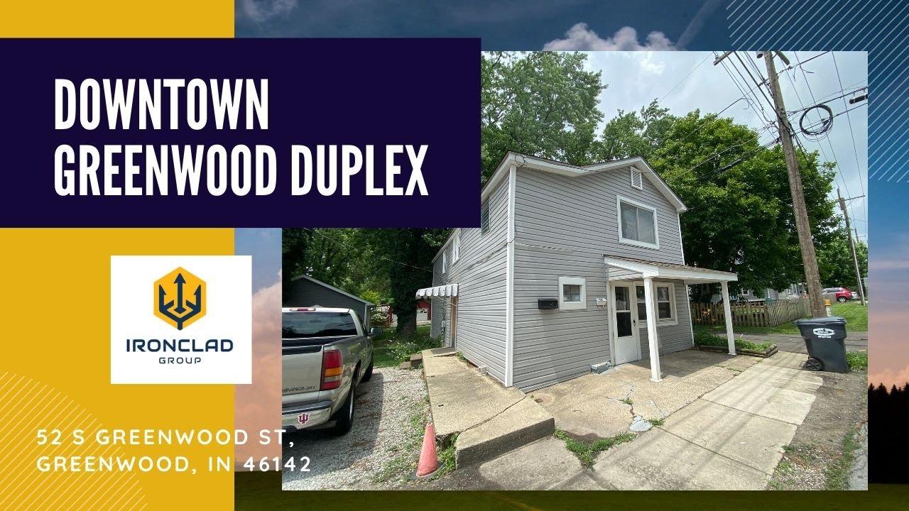 Downtown Greenwood Duplex