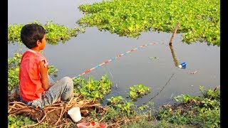 Best Fishing Video - Traditional Hook Fishing - MR Fishing Life (Part-1)