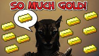 Elder Scrolls V Skyrim Secret Gold Ingot Stash