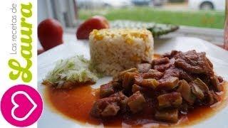 Guisado De Res Con Nopales En  Tomate Las Recetas De Laura Mexican Beef Stew