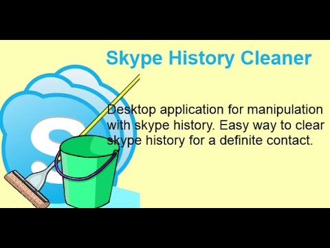 Skype Chat And Login/user History Cleaning