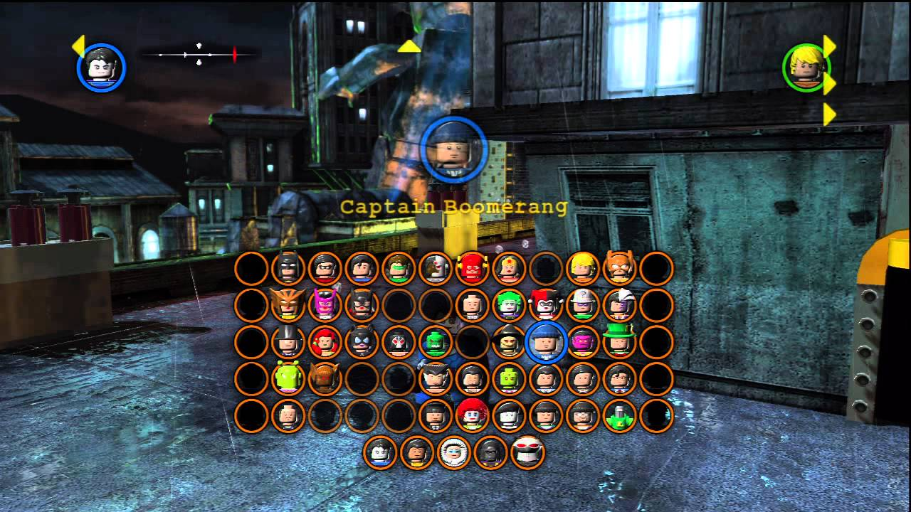 how to get all characters in lego batman 2
