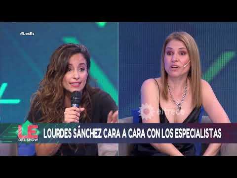 """Lourdes Sánchez se enfrentó con Los especialistas: """"Ustedes tienen doble cara"""""""