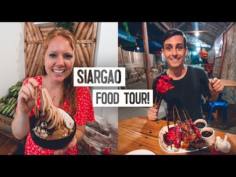 Siargao FOOD TOUR! - The BEST Local Restaurants & Filipino Food in General Luna