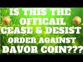 CRYPTO NEWS! Genesis Mining Cease and Desist Order! Logistics Chains!