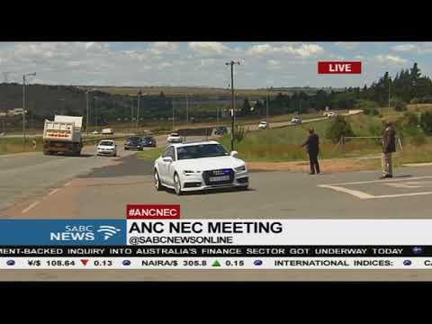 ANC NEC meeting, Nthakoana Ngatane reports