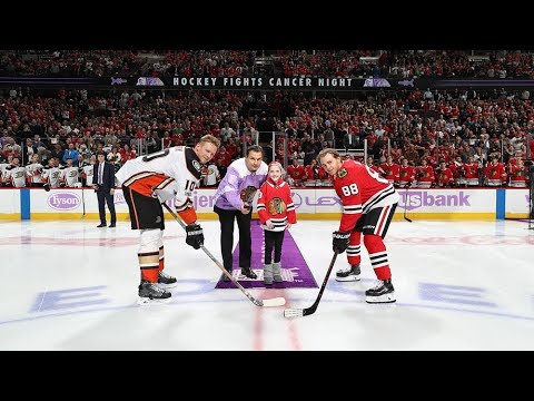 Sights & Sounds: Hockey Fights Cancer Night