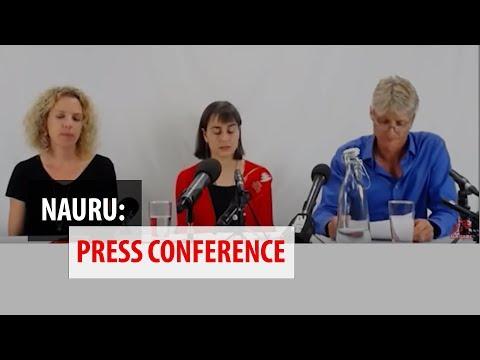 MSF Press Conference on Nauru 11.10.18