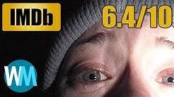 TOP 10 GUTE Kinofilme mit SCHLECHTEN IMDb-Bewertungen