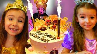 День Рождения 6 лет Ксюши и Арины Торт Лол и Вечеринка для друзей