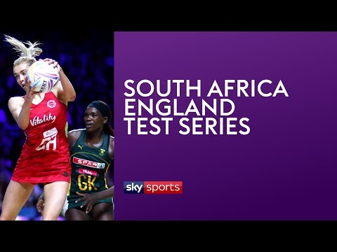 LIVE NETBALL! South Africa Vs England | Match 3