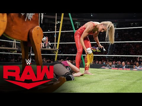 Charlotte Flair absolutely destroys her Charly doll on Alexa's Playground: Raw, Sept. 20, 2021