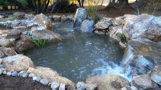 How to make a Waterfall - Landscaping Ideas - Part 1