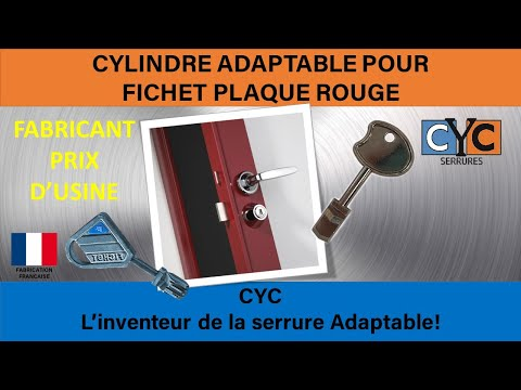 fichet vertipoint bandeau de porte serure cle changer votre cylindre en 5 minutes par cyc youtube. Black Bedroom Furniture Sets. Home Design Ideas