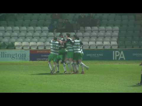 HIGHLIGHTS: YEOVIL TOWN 2-1 PLYMOUTH ARGYLE