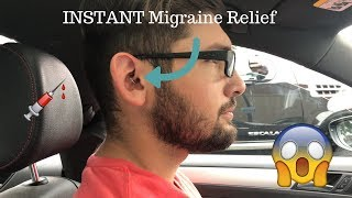 Husband Gets His Daith Pierced | INSTANT MIGRAINE RELIEF