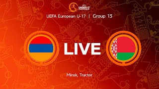 L VE Armenia-U17 — Belarus-U17
