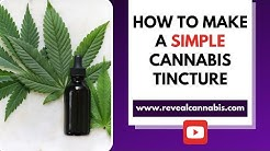 How to Make a SIMPLE Cannabis Tincture
