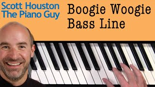 Boogie Woogie Piano Bass Line Pattern