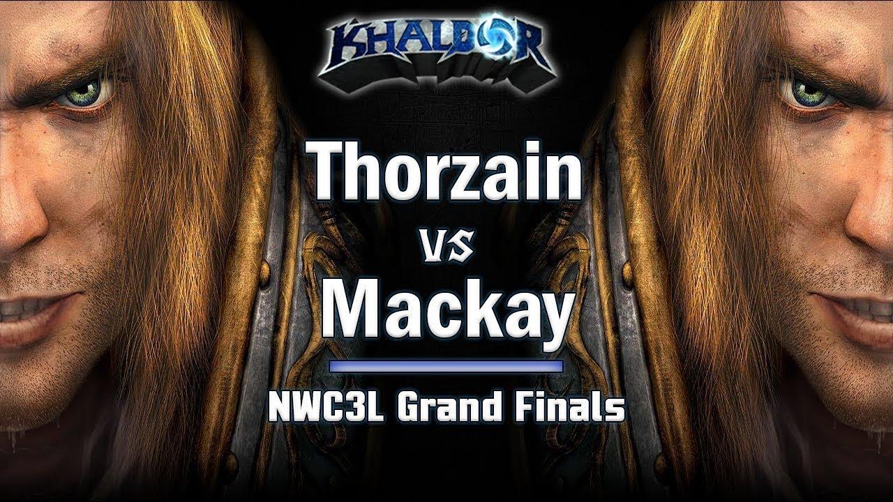 ► WarCraft 3 - Thorzain (HU) vs. Mackay (HU) - NWC3L Grand Finals