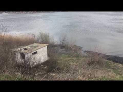 Foc de primavara pe lacul Cernica 1/2. 2-apr-2018