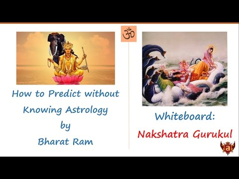 Whiteboard: How to Predict without Knowing Astrology by Bharat Ram