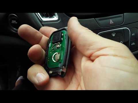 2016 Chevy Mailbu Key Fob Battery Replacement Youtube