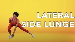 Workout with BH Fit | Lateral Side Lunge
