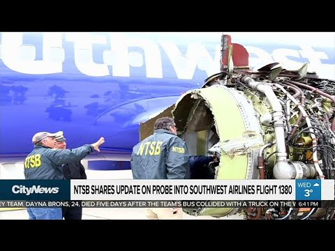 Probe continues after engine blows on Southwest jet