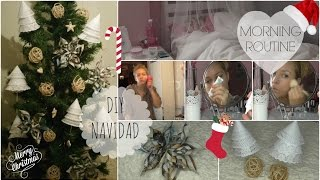 Morning Routine Domingo Navideño + DIY Decoración + SORTEO |  BeautyStylo