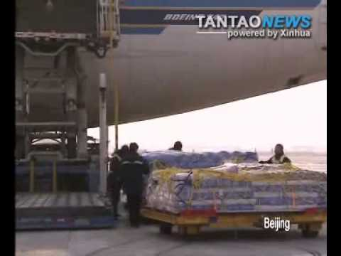Chinese Sends Aid To Haiti