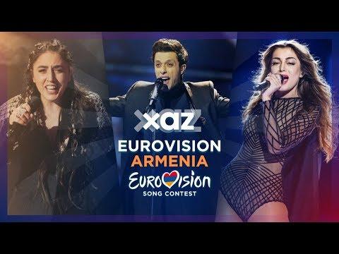 🇦🇲 Armenia in Eurovision - Top 10 (2009-2019)