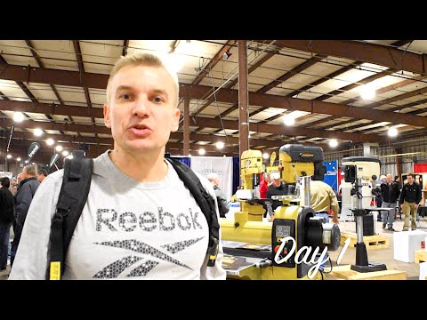ДЕРЕВООБРАБОТКА-2016 (США) День 1 / Woodworking Show 2016 (USA) Day 1